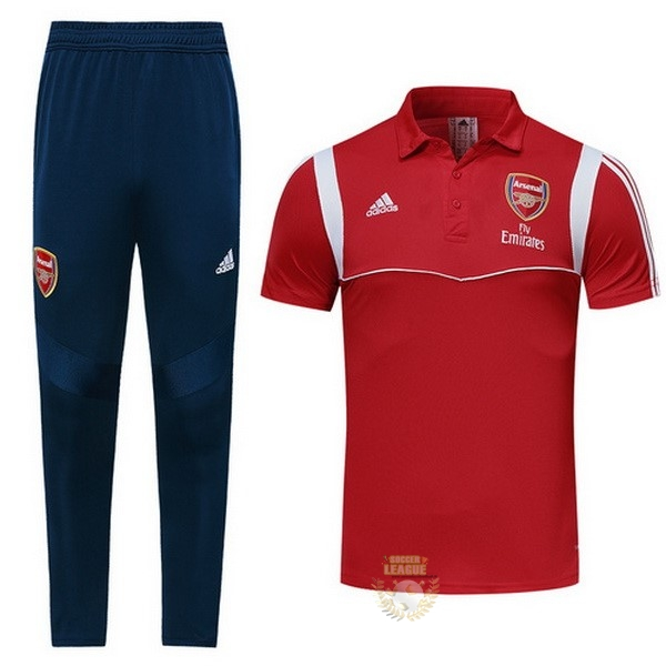 Site Foot Pas Cher Ensemble Complet Polo Arsenal 2019 2020 Rouge