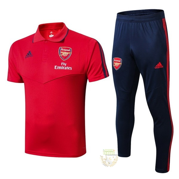 Site Foot Pas Cher Ensemble Complet Polo Arsenal 2019 2020 Rouge Bleu