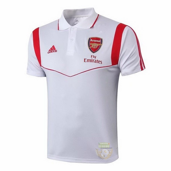 Site Foot Pas Cher Polo Arsenal 2019 2020 Blanc Rouge