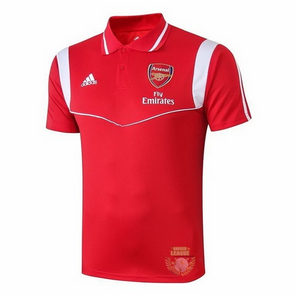 Site Foot Pas Cher Polo Arsenal 2019 2020 Rouge Blanc