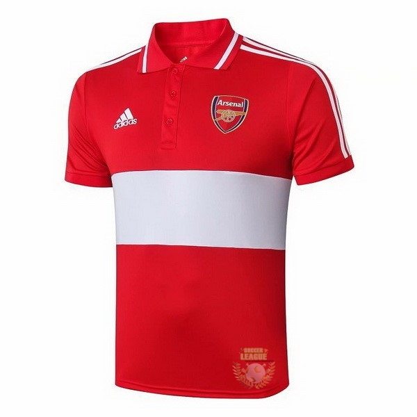 Site Foot Pas Cher Polo Arsenal 2019 2020 Rouge Gris