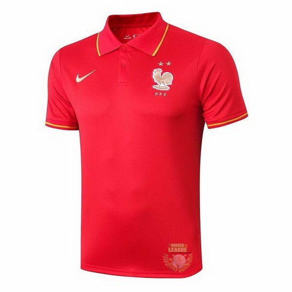 Site Foot Pas Cher Polo France 2019 Rouge