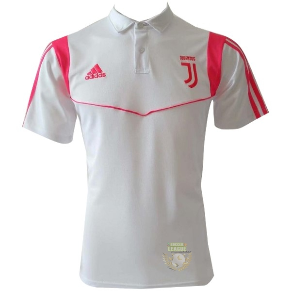 Site Foot Pas Cher Polo Juventus 2019 2020 Blanc Rose