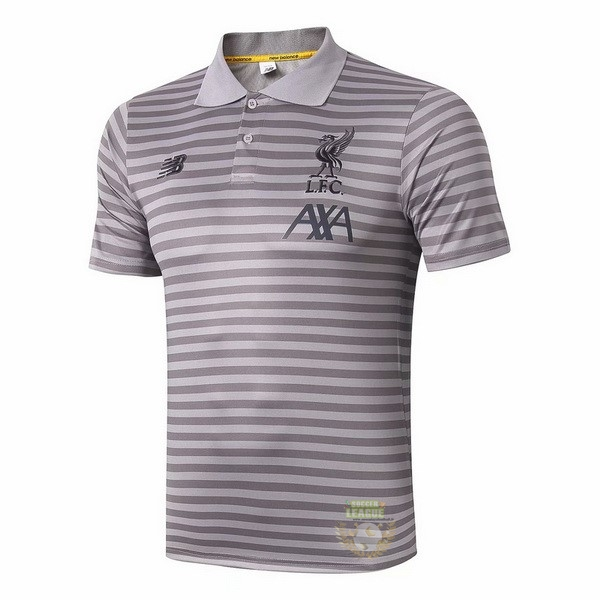 Site Foot Pas Cher Polo Liverpool 2019 2020 Gris Clair