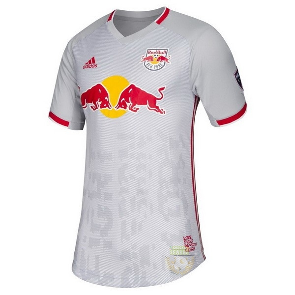 Site Foot Pas Cher Domicile Maillot Red Bulls 2019 2020 Blanc