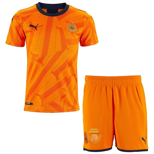 Site Foot Pas Cher Third Conjunto De Enfant Newcastle United 2019 2020 Orange