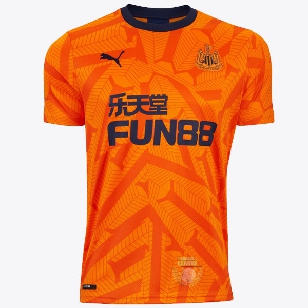 Site Foot Pas Cher Third Maillot Newcastle United 2019 2020 Orange