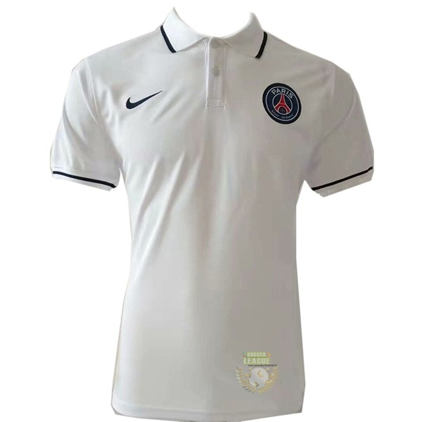 Site Foot Pas Cher Polo Paris Saint Germain 2019 2020 Blanc
