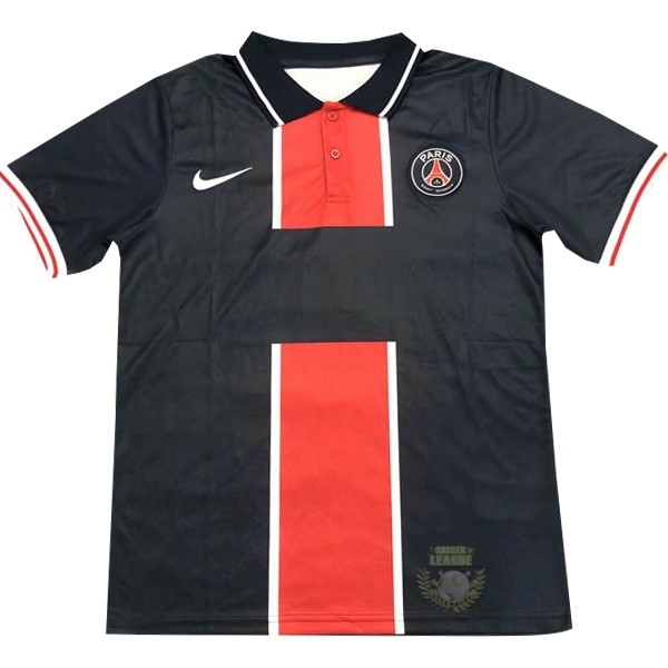 Site Foot Pas Cher Polo Paris Saint Germain 2020 2021 Bleu Rouge