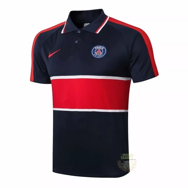 Site Foot Pas Cher Polo Paris Saint Germain 2020 2021 Noir Rouge Blanc