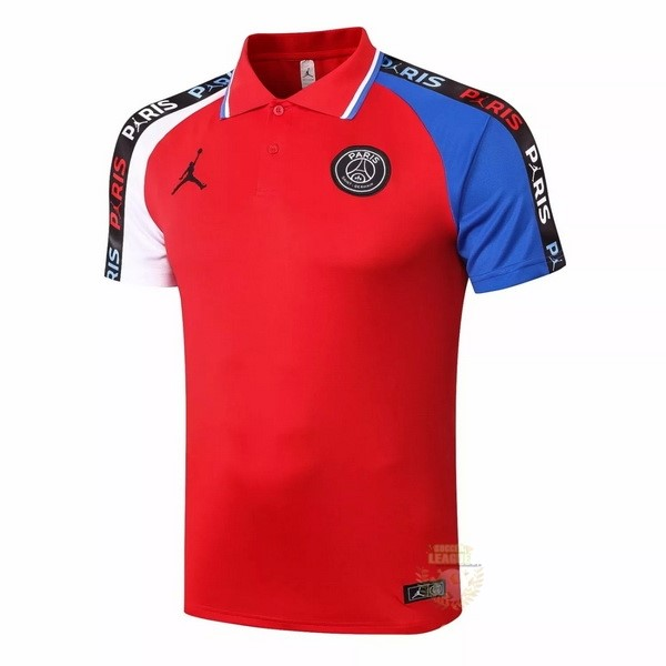 Site Foot Pas Cher Polo Paris Saint Germain 2020 2021 Rouge Blanc Bleu