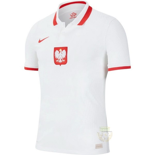 Site Foot Pas Cher Domicile Maillot Polonia 2020 Blanc