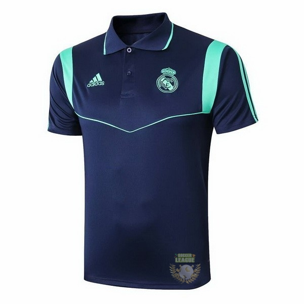 Site Foot Pas Cher Polo Real Madrid 2019 2020 Bleu Vert Marine