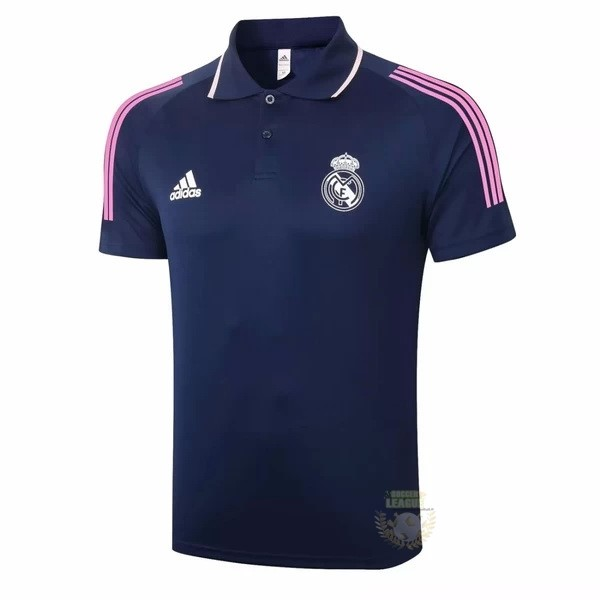 Site Foot Pas Cher Polo Real Madrid 2020 2021 Bleu Marine