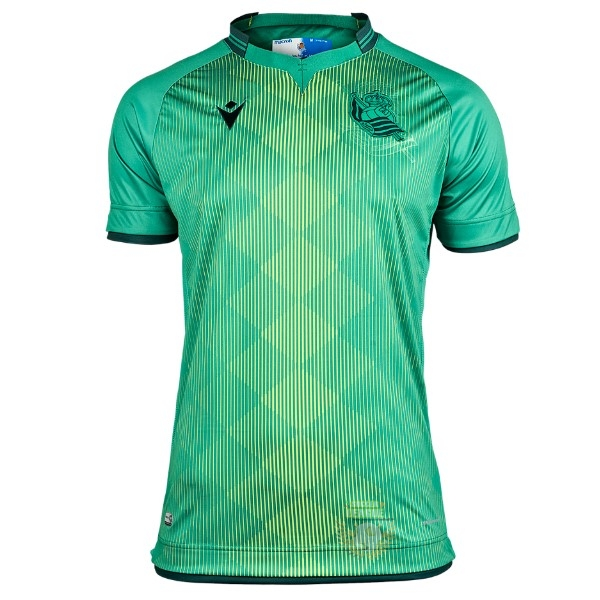 Site Foot Pas Cher Exterieur Maillot Real Sociedad 2019 2020 Vert
